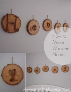 Wooden Nursery Names