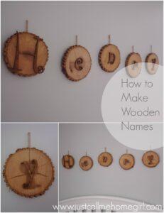 Wooden Nursery Names