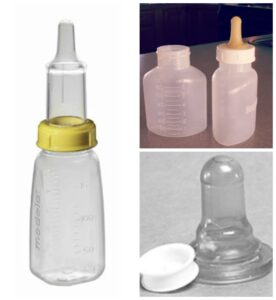 cleft  bottles