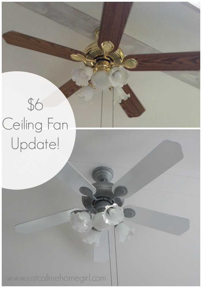 6 Dollar Ceiling Fan Update