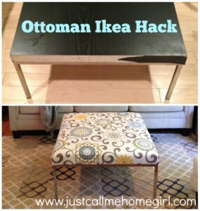 Ottoman Ikea Hack