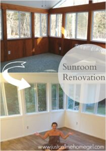 The Beginning of our Sunroom Renovation