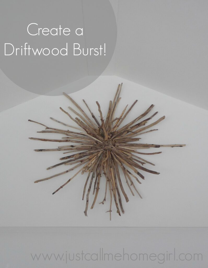 How to make a driftwood sunburst
