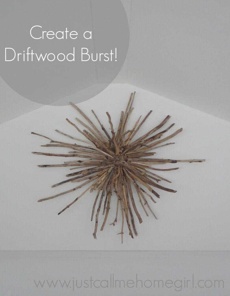 How to make a driftwood sunburst
