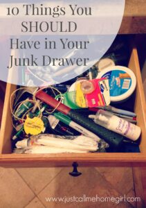 10 Items You SHOULD Have in Your Junk Drawer