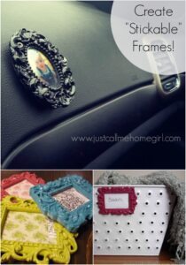 "How to Create ""Stickable"" Picture Frames"