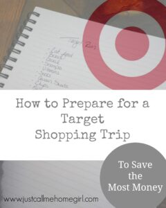 How to Prepare for your Target Shopping Trip
