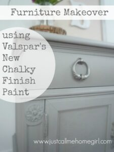 Valspar's Chalky Finish Paint Makeover