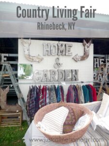 2015 Country Living Fair in Rhinebeck, NY