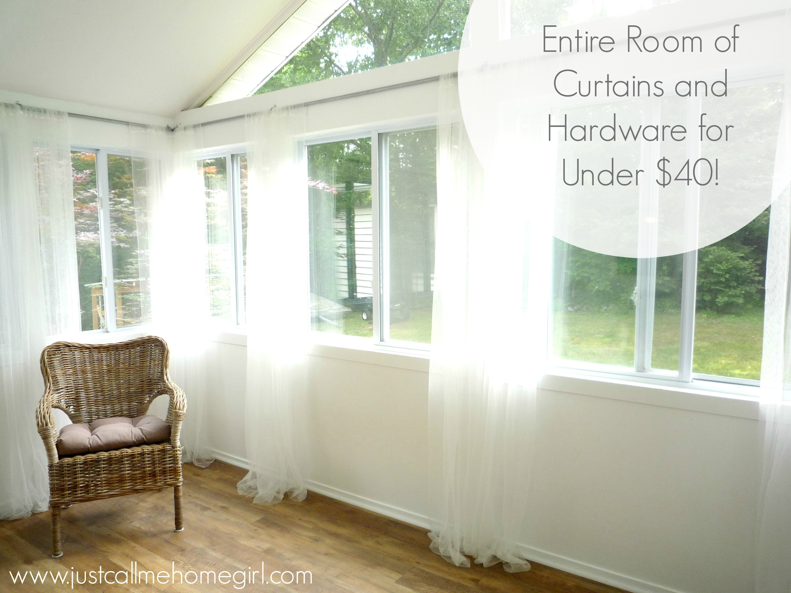 Sunroom Curtains