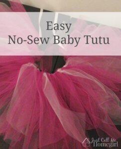 Easy Baby Tutu