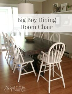 Big Boy Dining Room Chair