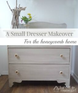 A Little Dresser Makeover