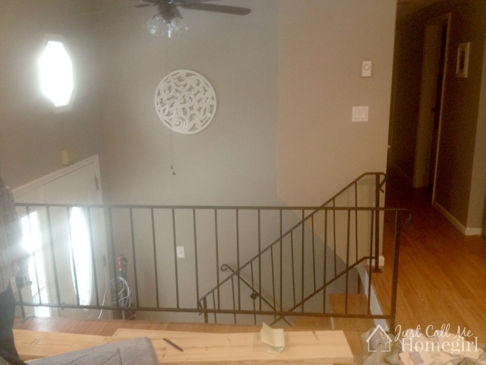 raised ranch railing