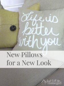 New Pillows for a New Look