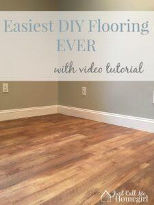Allure GripStrip, Easiest DIY Flooring EVER