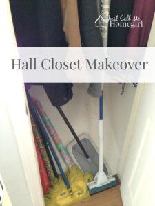 Hall Closet Makeover