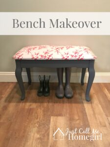 Bench Makeover