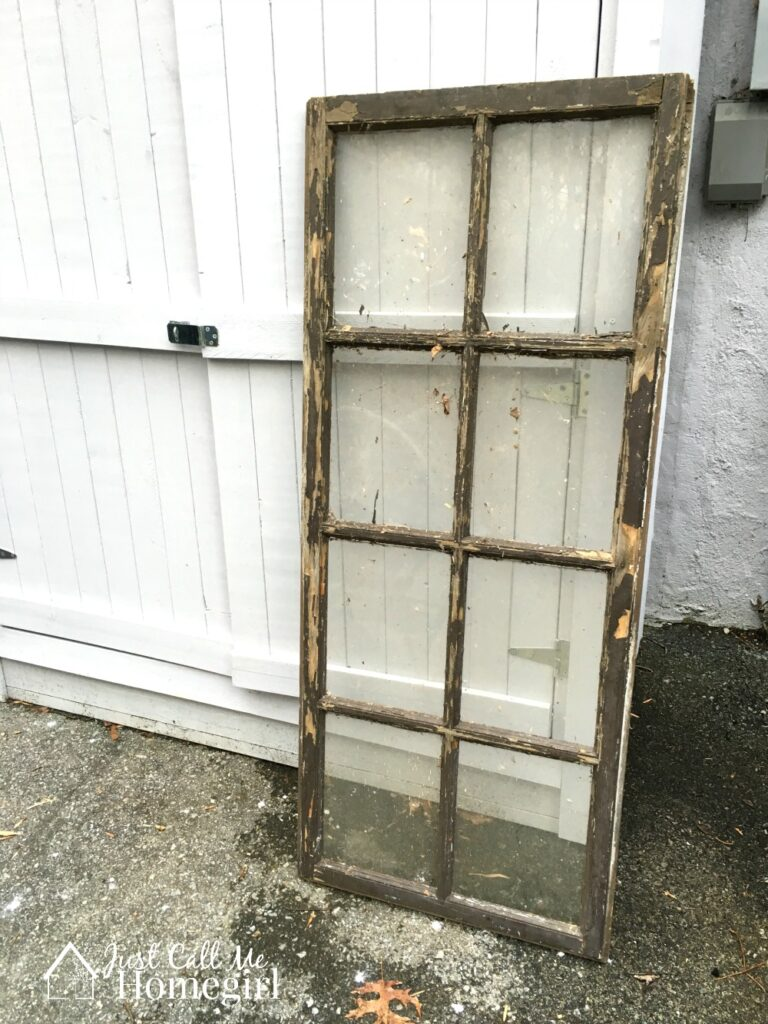 old window before