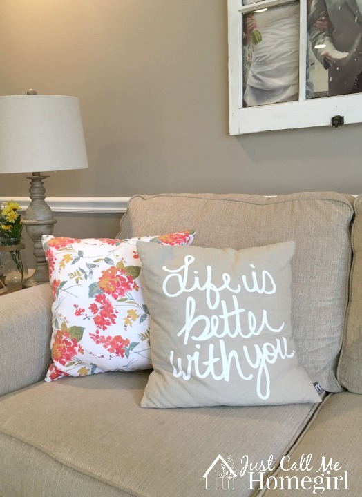 Pillows made from Napkins!