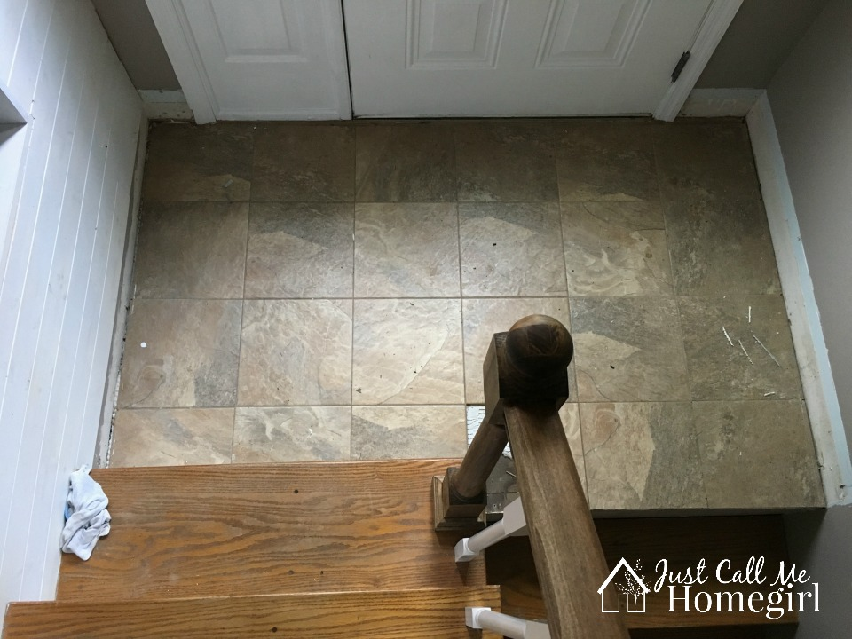 tile entry flooring