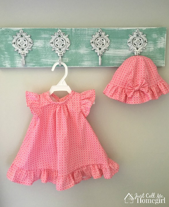 Baby Girl Dress in Nursery