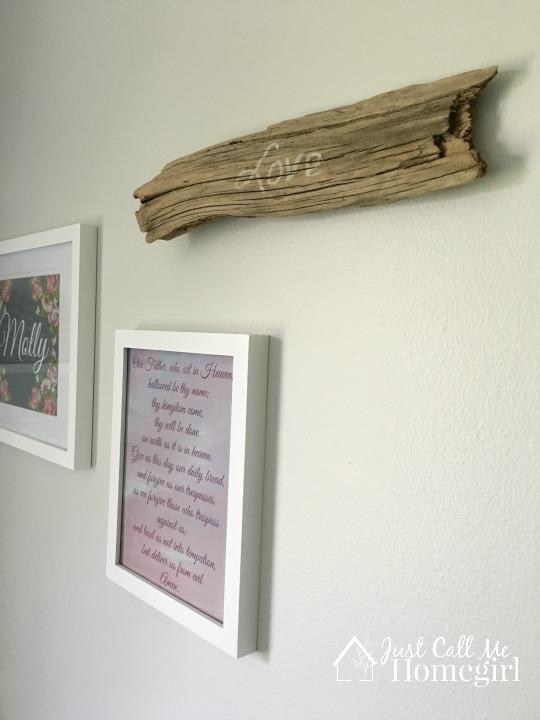 Girl Nursery Driftwood
