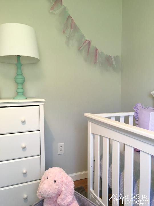 Girl Nursery Tulle