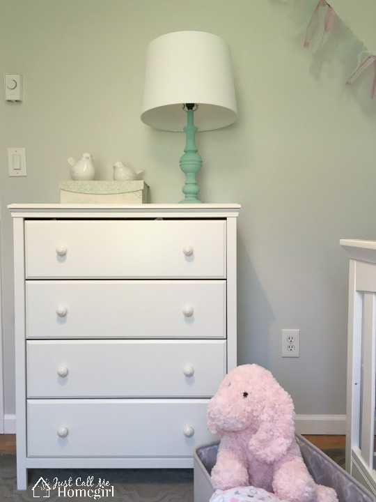 Baby Girl Nursery Mint
