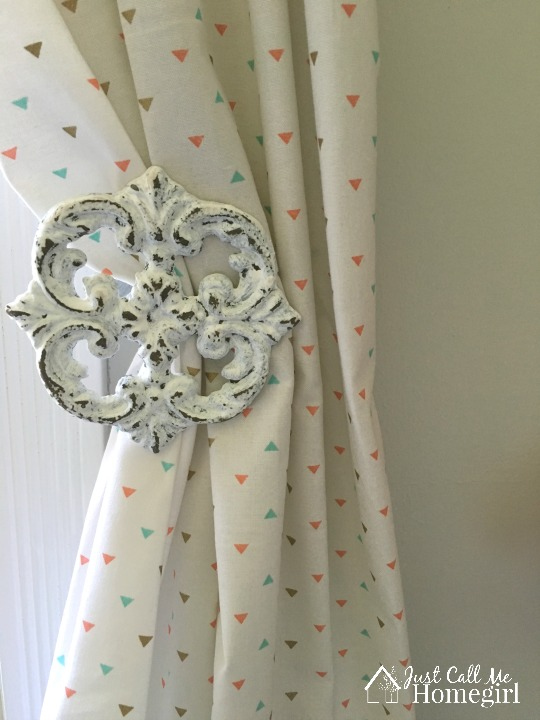 Girl Nursery Curtain Pull