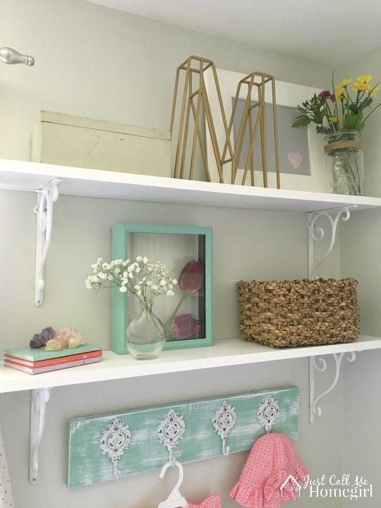 ORC Girl Nursery Shelves