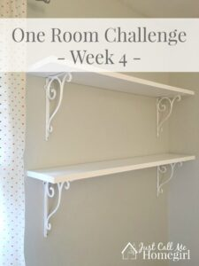 One Room Challenge Week 4