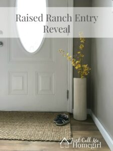 Raised Ranch Entry Reveal