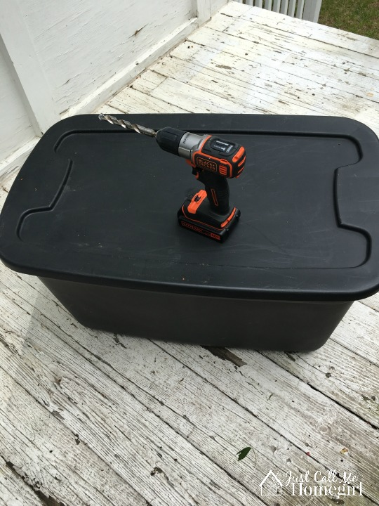 DIY Tote Compost