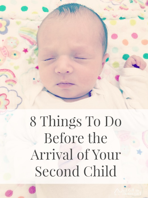 things to do before the arrival of your second child