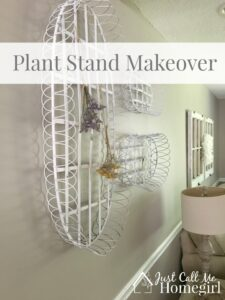 Plant Stand Makeover