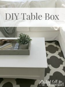 Table Box Using a Kreg Jig