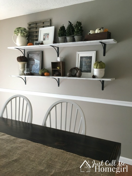 Great Dining Room Shelves