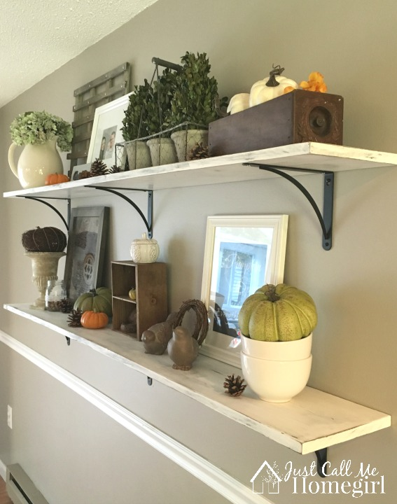 Dining room shelves just call me homegirl for Dining room shelves