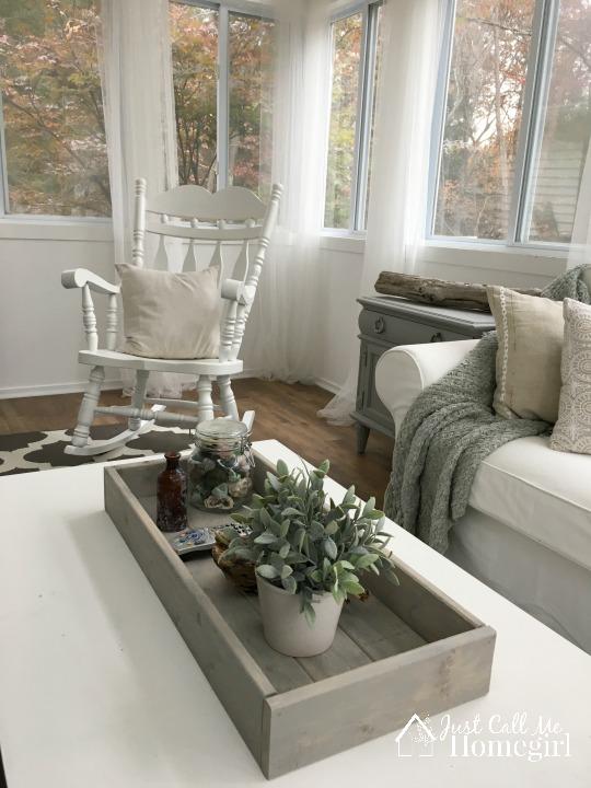 White Sunroom