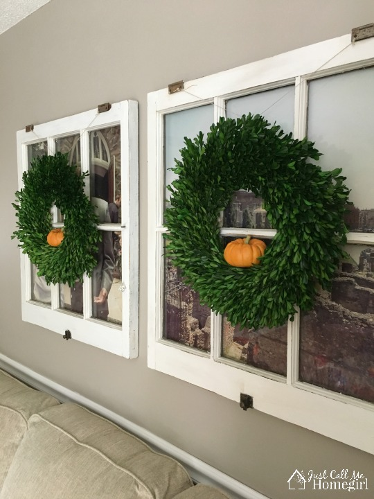 Boxwood Wreath Fall