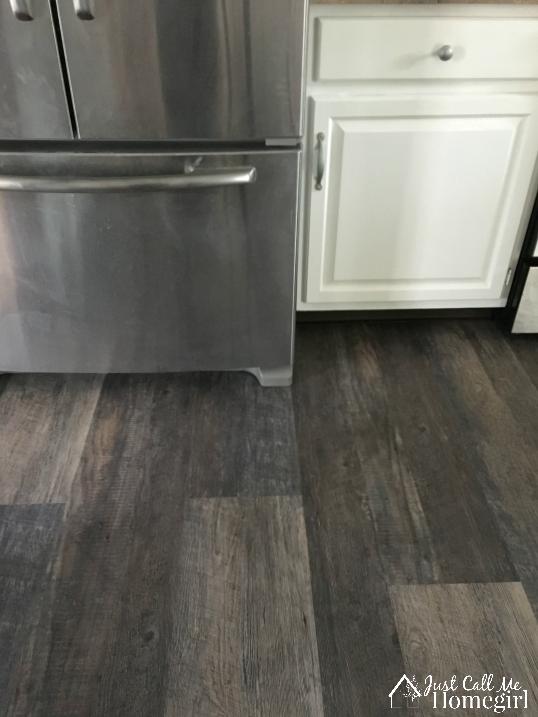 Lifeproof Luxury Vinyl Plank Flooring In The Kitchen Just Call Me