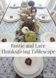 Rustic-lace-thanksgiving-tablescape