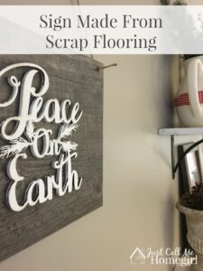 Scrap Flooring Easy Sign