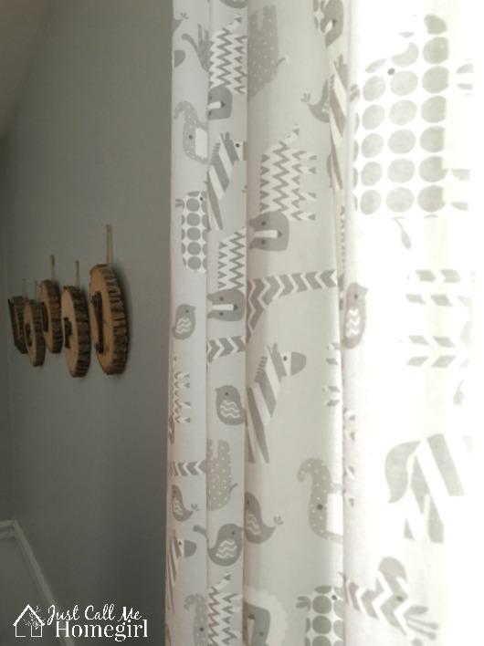 Nursery Gray Curtains
