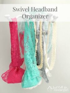 Easy Headband Organizer