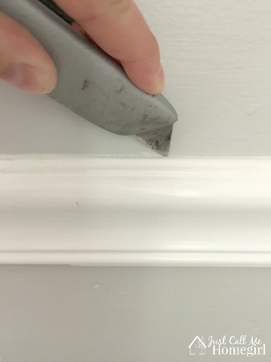 removing a chair rail