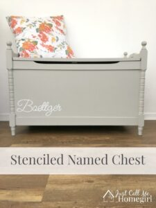 Personalized Chest Makeover