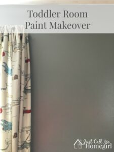 Toddler Room Paint Makeover