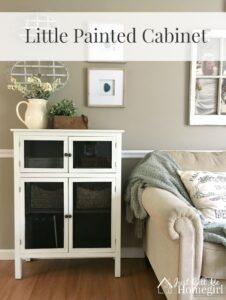 Little Painted Cabinet